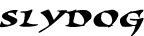 SlyDog font
