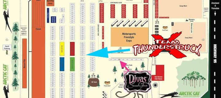 HAYDAYS MAP OF THUNDERSTRUCK BOOTH