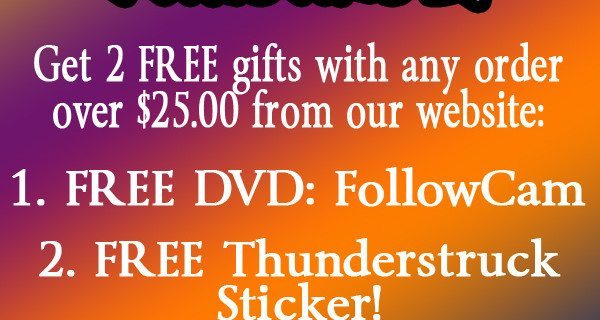 5 DAY SALE :: FREE DVDs AND STICKERS!