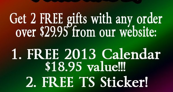BLACK FRIDAY SUPER SALE :: FREE CALENDARS!!