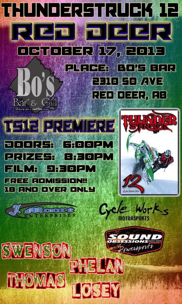 Premiere TS12 Red Deer