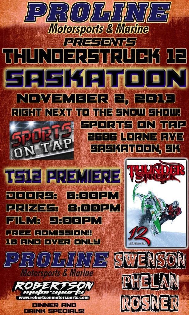 Premiere TS12 Saskatoon