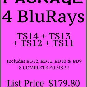 Package – 4 Latest BluRays TS14 +  TS13+TS12+TS11