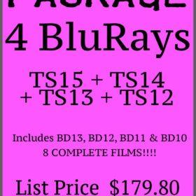 Package – 4 Latest BluRays TS15+TS14 +TS13+TS12