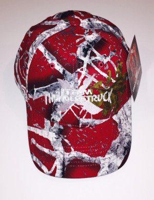 Hat2015 Camo-Burgandy