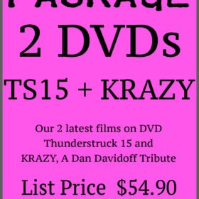 PACKAGE – 2 DVDs – TS15 + KRAZY
